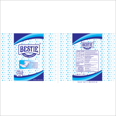 Bestie Adult Diapers Large