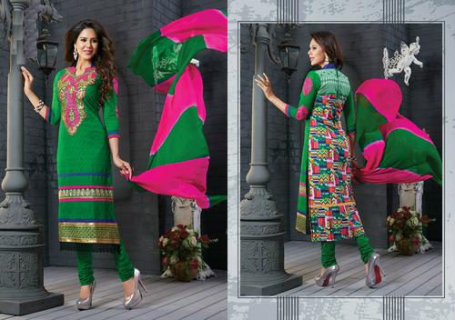 Gorgeous Green salwar kameez summer salwar kameez 8311