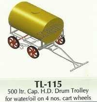500 ltr. H.D. Drum Trolley