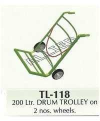 200 ltr Drum Trolley
