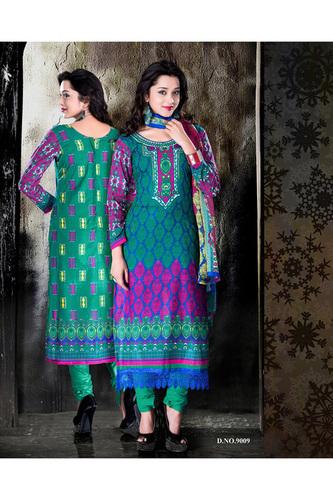 Designer Summer Multicolor Salwar Kameez