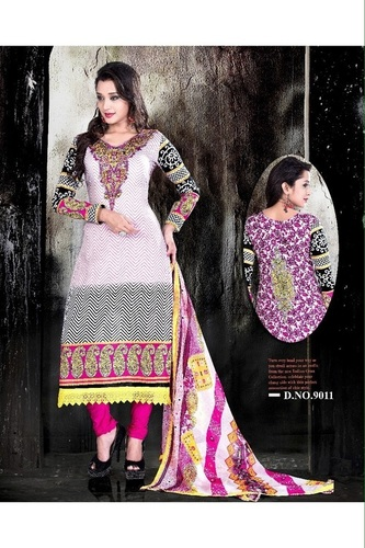 Gorgeous Multicolor Summer Salwar Kameez