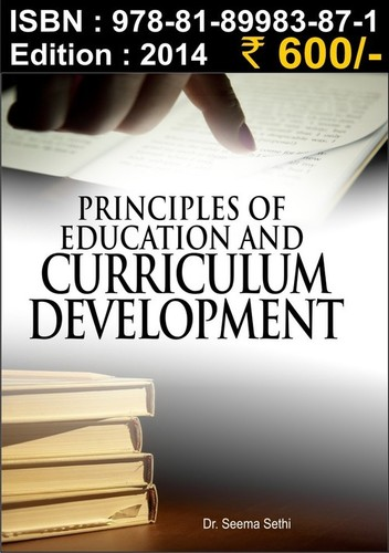 Principles of Education and Curriculum Development