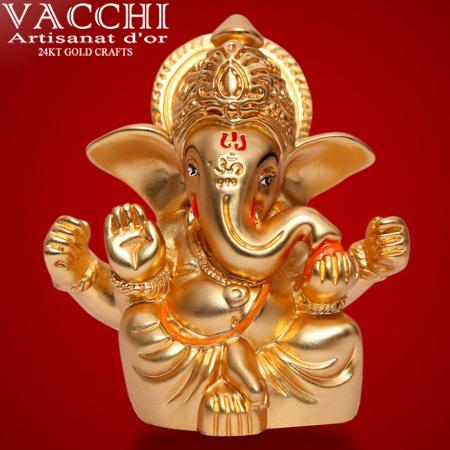 Gold Plated Ganesha