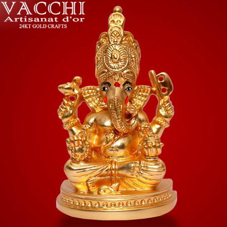 Gold Coated Ganesha