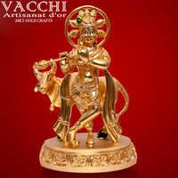 Gold Plated Krishna