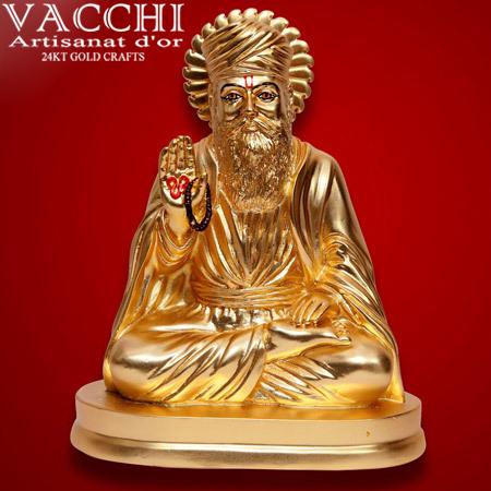 Gold Plated Nanak Idol