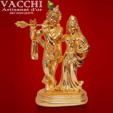 Gold Plated God Idols