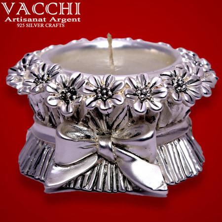 Silver Plated Deepak
