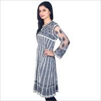 Lucknowi Embroidery Long Kurti