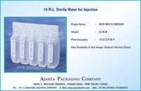 10 M.L. Sterile Water for Injection