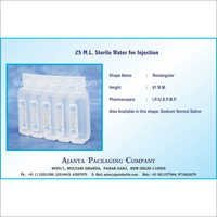 25 M.L. Sterile Water for Injection