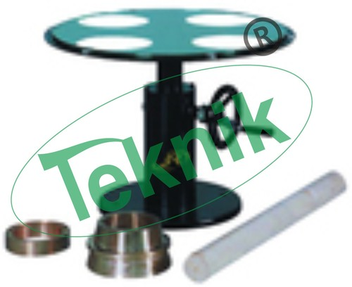 Flow Table Hand Operated Steel Top