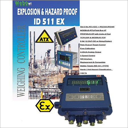 Explosion-Proof Weight Indicators