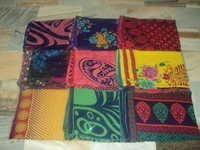 RAYON PRINTED SAREES TRADITIONAL INDIAN