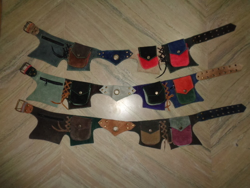 SUEDE LEATHER MONEYBELT BAGS