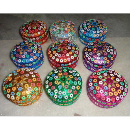 LAC JEWELLERY BOXES FROM INDIA