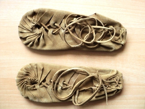 INDIAN SUEDE LEATHER SHOES HIPPIE STYLE