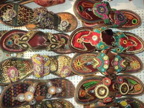 LADIES EMBROIDERY SHOES FROM INDIA