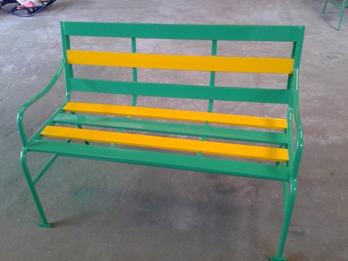 Galvanized Steel Garden Benches