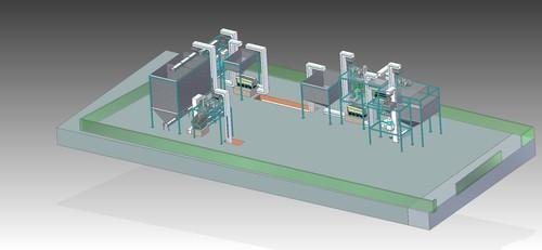 Raisins Processing Plant