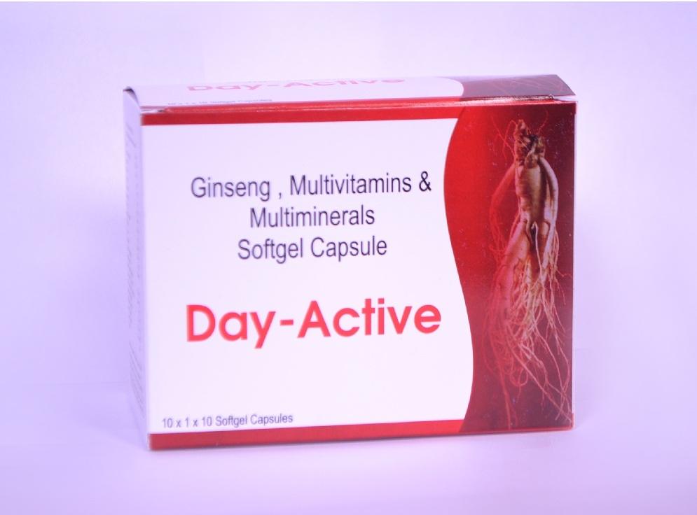 Day Active (Multivitamin Multi mineral Soft Gel Capsule) Strip