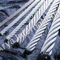 Low Carbon Steel Wire Ropes