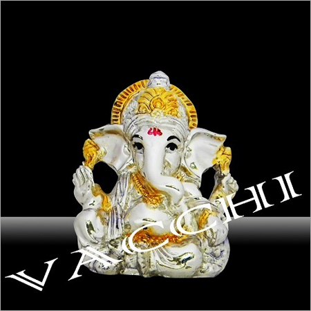 Silver Plated Ganesha