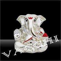 Silver Plated Silver Ganesha