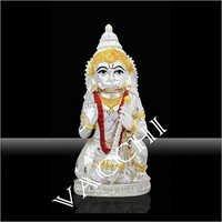 Silver Plated Hanuman Idol