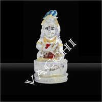 Silver Plated Bal Krishna Statue