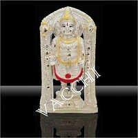 Silver Plated Balaji Statue