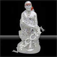 Silver Plated Sai Baba