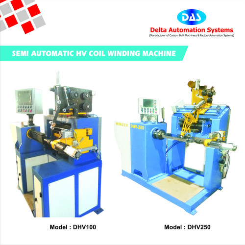 Semi Automatic HV Coil Winding Machines