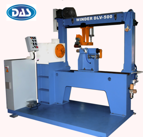 Semi Automatic LV strip coil Winding Machine