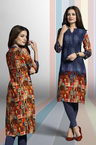 Designer Georgette Festive Wear Kurti