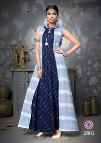 Stylish Georgette Festive Wear Kurti