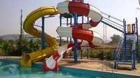 Combination of Open And Tunnel  Water Slide