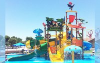 Jungle Theme Water Play System 4 Platform