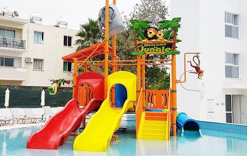 3 Platform Water Play System