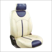 White Leather Car Seat Cover