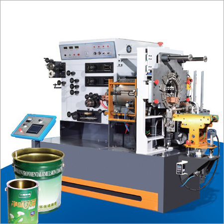 Square Barrel Body Welding Machine
