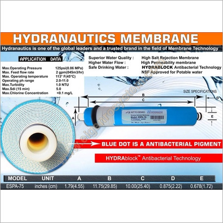 Hydranautics Domestic  RO Membrane