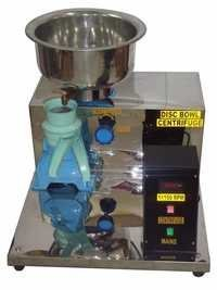 Disc Bowl Centrifuge