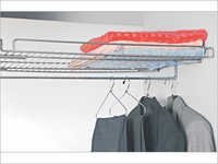 Shelf With Coat Hanger