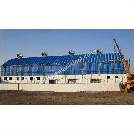 Trussless Roofing System