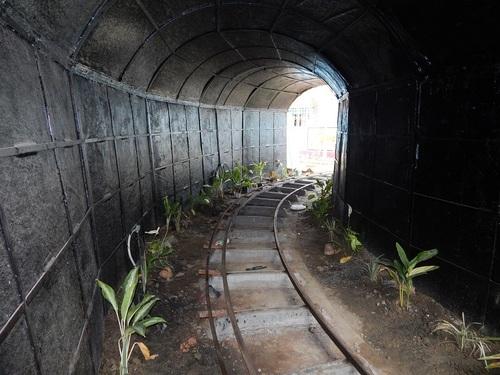 Kalna Park Toy Train Tunnel