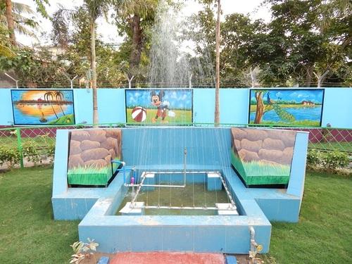 Kalna Park Plain Fountain