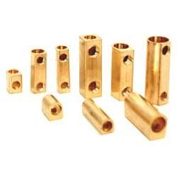 Brass Strip Straight Connectors