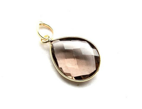 Smoky Topaz Gemstone Pendants
